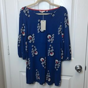 Boden Floral Tunic